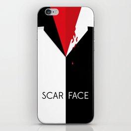 Scarface Minimalist Movie Poster iPhone Skin