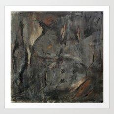 Sacrifice (oil on canvas) Art Print