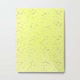 Yellow Gradient Stars Metal Print
