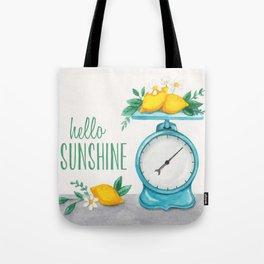 Lemon Kitchen Scale 1 Tote Bag