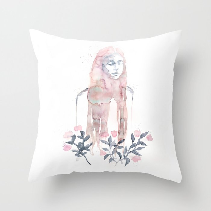 Longing For Throw Pillow