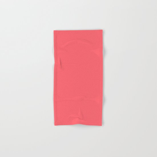 Coral Hand & Bath Towel