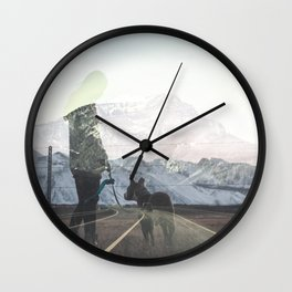 The Walk Wall Clock