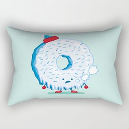 The Frigid Donut Rectangular Pillow