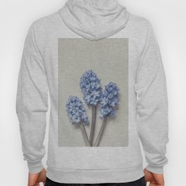 Light Blue Hyacinths Hoody