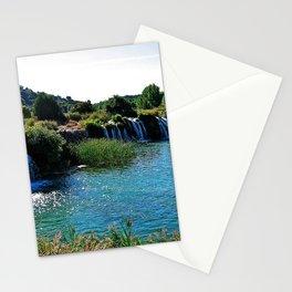 Lagoons de Ruidera Stationery Cards