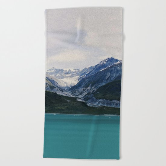 Alaska Wilderness Beach Towel