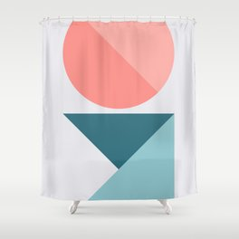 Geometric Form No.1 Shower Curtain