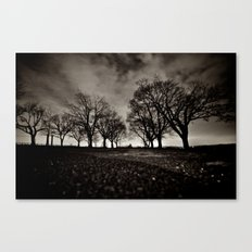 dark days Canvas Print
