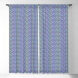 Beaded Curtain Jewel Tones Blackout Curtain