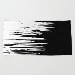 Distortion Beach Towel