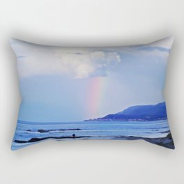 Love under the Rainbow Rectangular Pillow