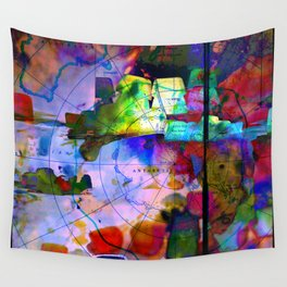 Oil Spill Wall Tapestry