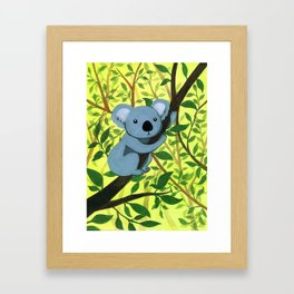 Cute Koala bear Framed Art Print