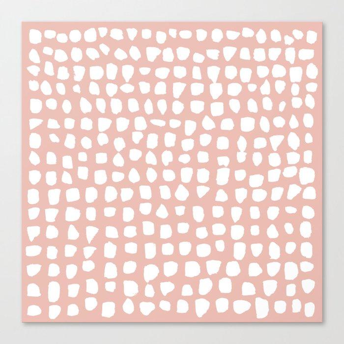 Dots (Pink) Leinwanddruck