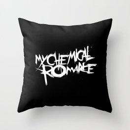My Chemical Romance Throw Pillow