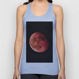 Blood Moon (Color) Unisex Tank Top