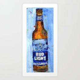 Bud Light - Budwiser American Beer Art Print