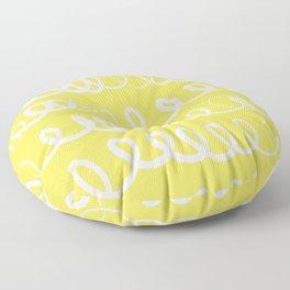 In other Words Floor Pillow
