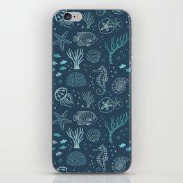 The Blue Deep iPhone Skin