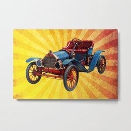 Vintage Car 01 Metal Print