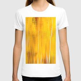 Autumn colors reflecting on the lake surface #decor #society6 #buyart T-shirt