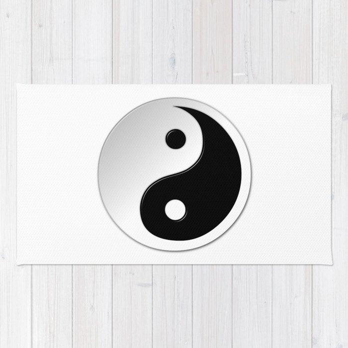 Yin Yang Symbol Rug By Markuk97 Society6