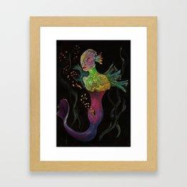 Birth of Mermaids Framed Art Print