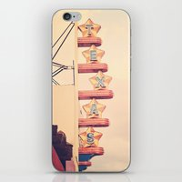theatre iPhone & iPod Skins featuring Texas Theatre by maybesparrowphotography