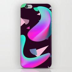 Move - gradient shape pattern iPhone & iPod Skin