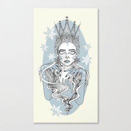 Ice Queen \ Snow Queen Canvas Print
