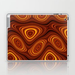 Amber Lava 22 Hi Res Laptop & iPad Skin