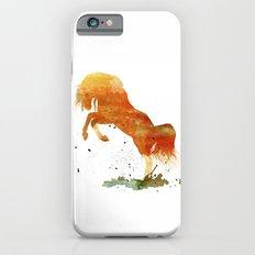 HORSES -Wild mountain pony Slim Case iPhone 6s