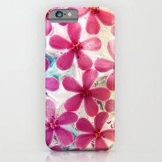 Flowers in crystal Slim Case iPhone 6s