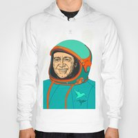 kevin russ Hoodies featuring Kevin Spacey by IvaDim