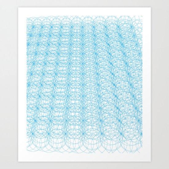 Circle Tromp L'Oeil Art Print