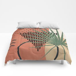 Nature Geometry II Comforters