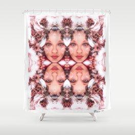 Daces Three Shower Curtain