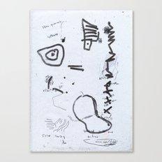 Aenean commodo Canvas Print