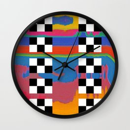 drag scan Wall Clock