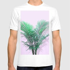 Palms on Musk White MEDIUM Mens Fitted Tee