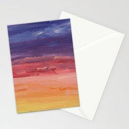 Melbourne Sunset Stationery Cards