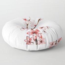 Cherry blossom 2 Floor Pillow