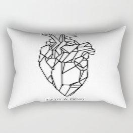 Skip a Beat Rectangular Pillow