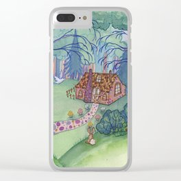 The Witch's House Clear iPhone Case