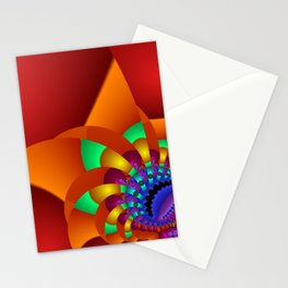 chaotic colors -2- Stationery Cards