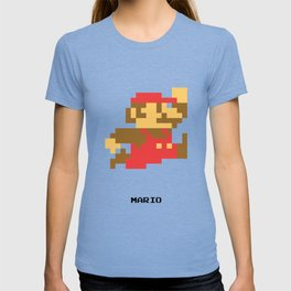 Lab No.4 -Mario Video Game Quotes,Poster T-shirt