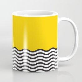 Waves of Yellow Coffee Mug