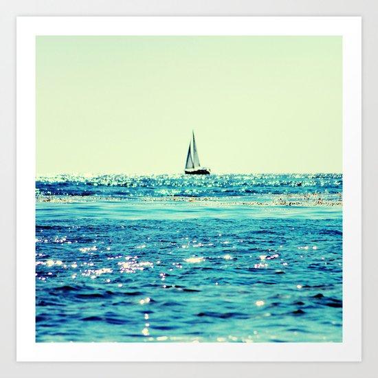 Sailin' Art Print