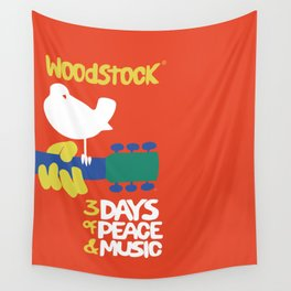 Woodstock 1969 Wall Tapestry